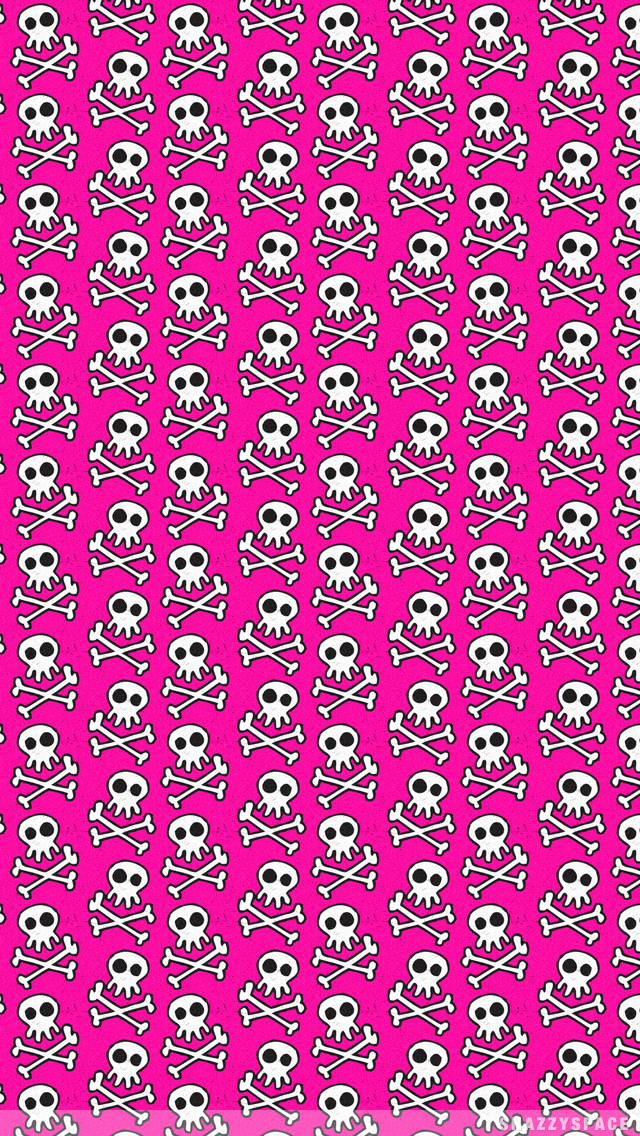 Pink Skull Wallpaper for iPhone - Bing images | Cool