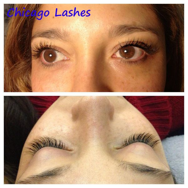 eyelash extensions in chicago natural set applied by our amazing ...