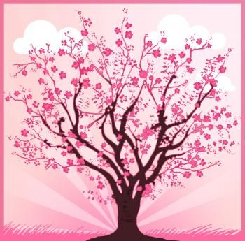 Trees How To Draw A Cherry Tree Tree Drawing Cherry Tree Tattoos Blossom Tree Tattoo