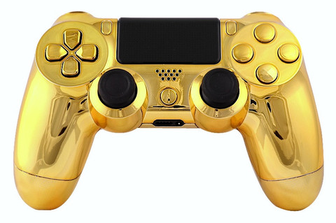 This Is Our Limited Gold Playstation 4 Modded Controller It Is A Perfect Gift For A Special Gamer In Your Life Orde Cool Ps4 Controllers Ps4 Controller Ps4
