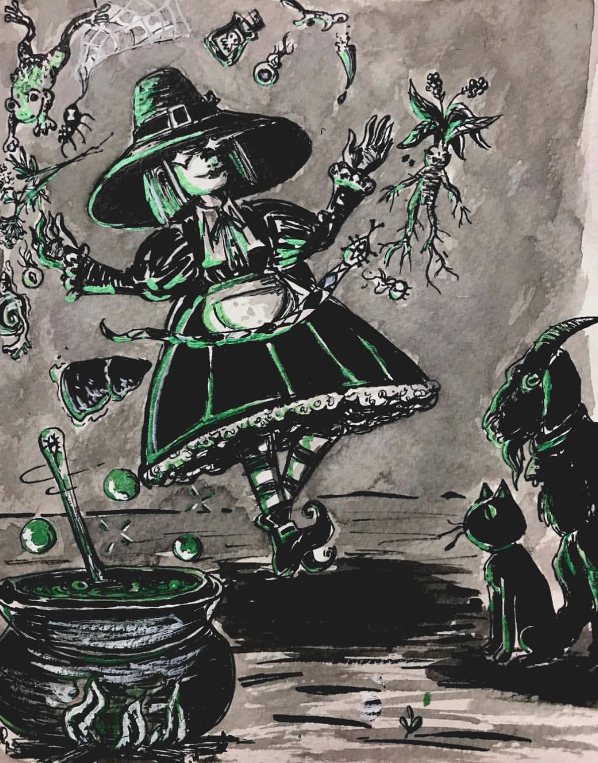 Vintage halloween by Spooky_one1031halloweenhoarder on