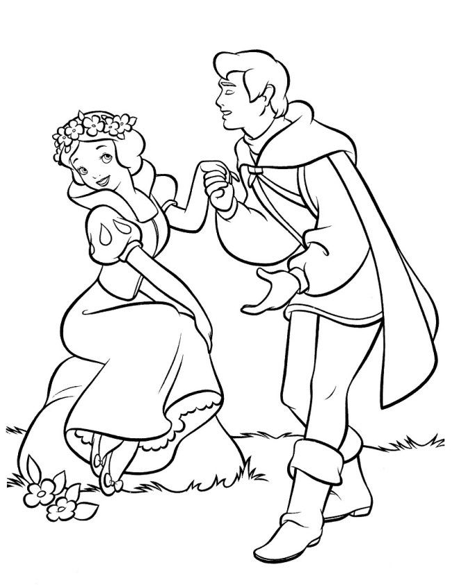 Pictures Snow White Coloring Pages Printable | Snow white ...
