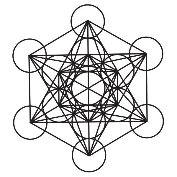 Sacred Geometry. Meaning, vibes, and silver foil on your