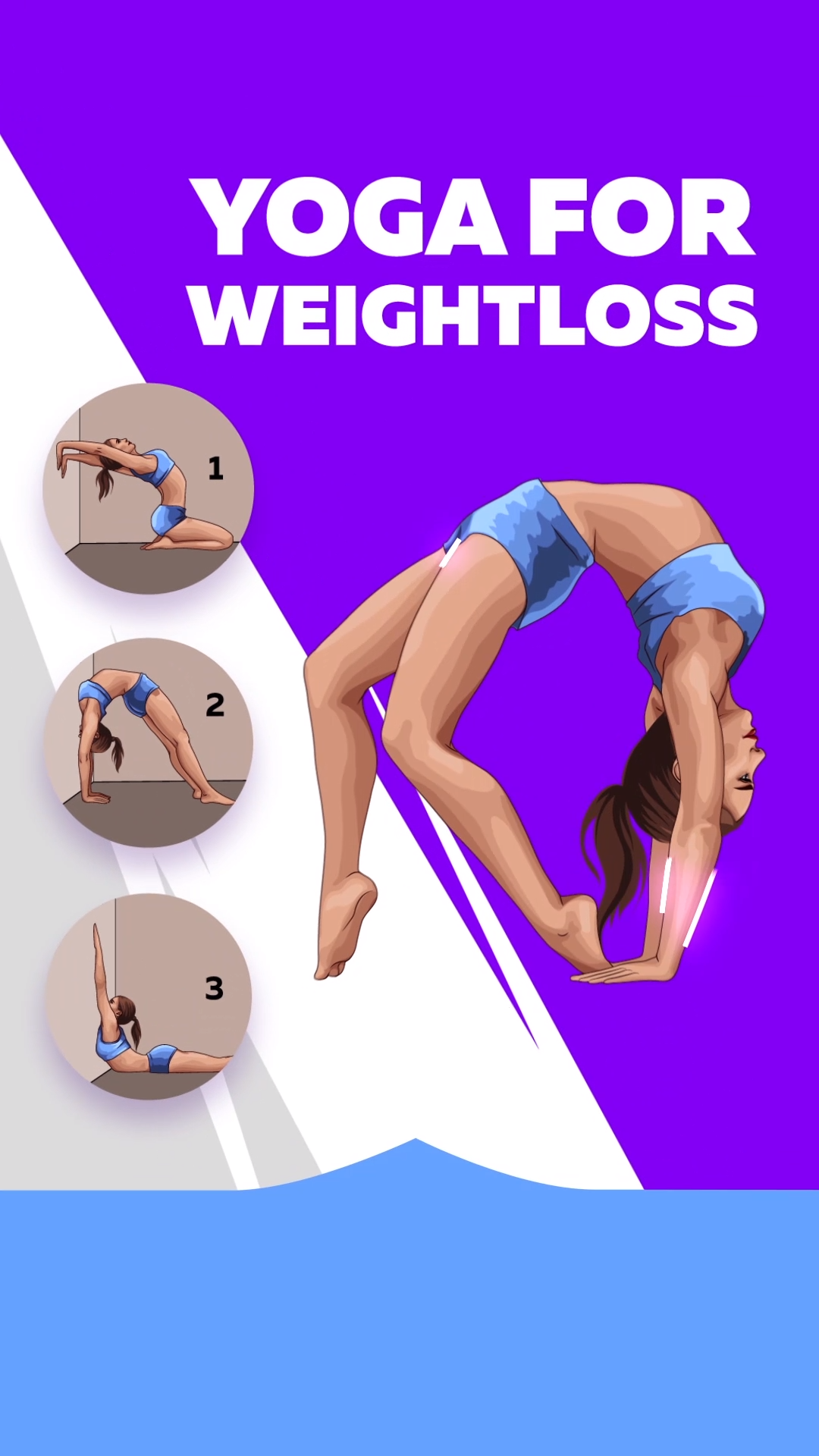 Your chance to make your body perfect with yoga workout!!! Combine your favorite poses in one yoga workout and become slimmer as soon as possible!!! 28-Day Yoga Challenge to prepare the body to summer!!!