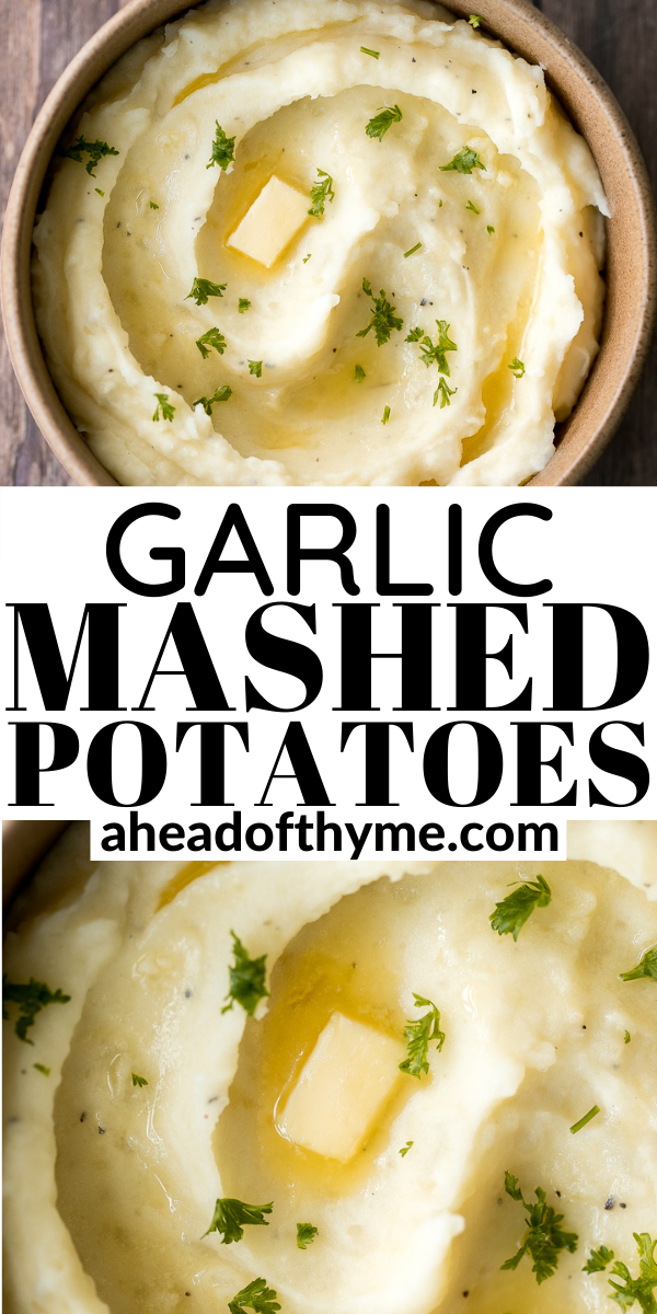 Garlic Mashed Potatoes With Sour Cream Recipe In 2020 Garlic Mashed Potatoes Garlic Mashed Easy Potato Recipes