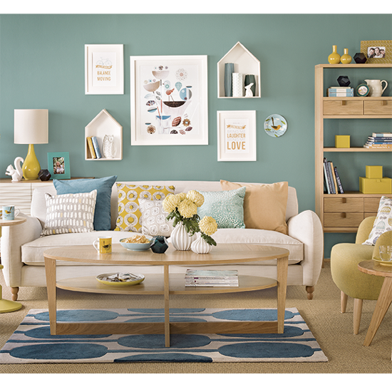 Colour School Decorating With Teal Amp Tomato Staging
