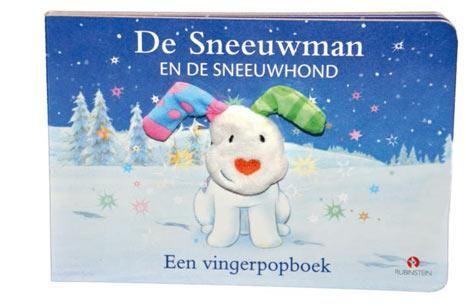 Recensie: De sneeuwman en de sneeuwhond - een vingerpopboek - Raymond Briggs