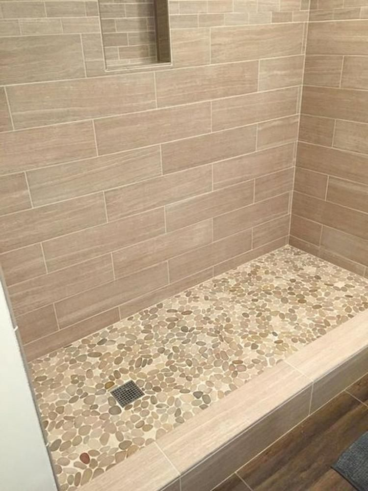 30 Stunning Farmhouse Shower Tile Ideas Shower Tile Bathroom Shower Tile Farmhouse Shower