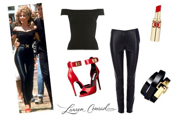 Trick or Treat 5 Last Minute Costume Ideas (Lauren Conrad)  sc 1 st  Pinterest : grease costume ideas  - Germanpascual.Com