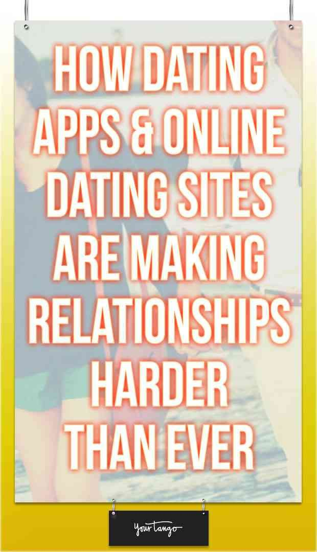 Dating harder than ever