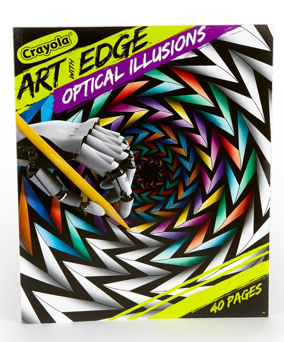 Take a look at this Optical Illusions Art With Edge