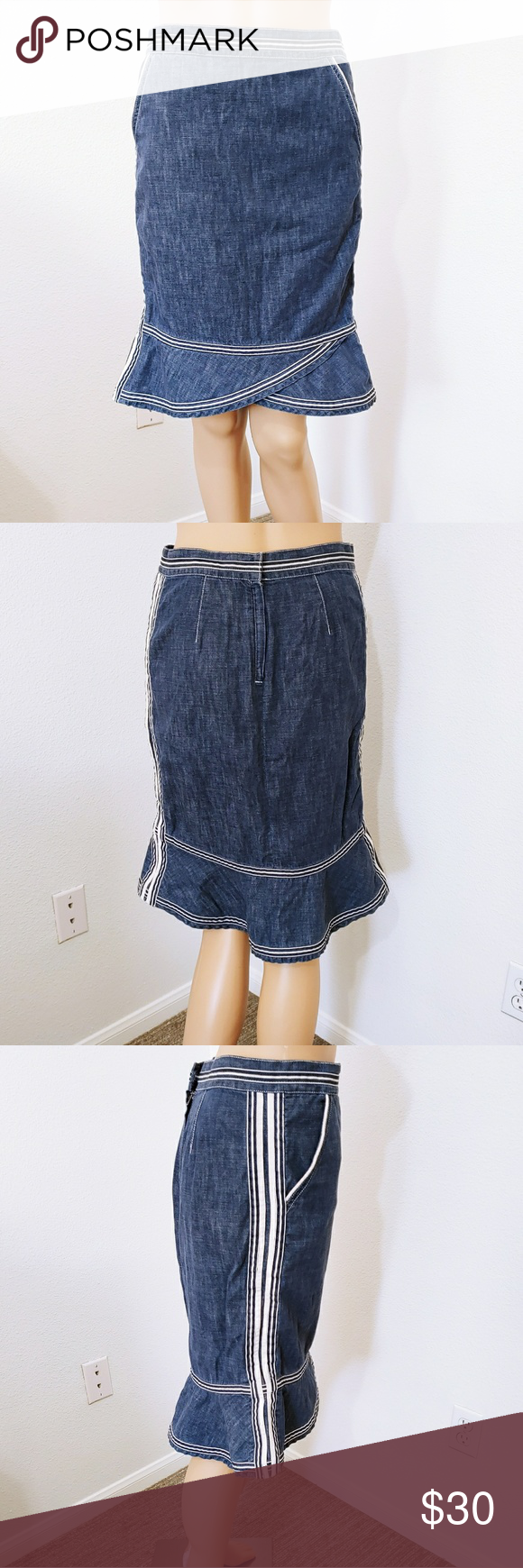 eebd41571 Marc Jacobs Denim Skirt I'm in love with this skirt. It's soft and ...