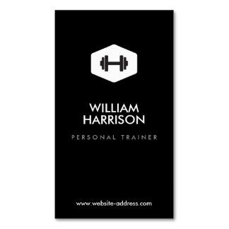 Personal trainer fitness instructor logo business card templates shop customizable trainer business cards and choose your favorite template from thousands of available designs reheart Gallery