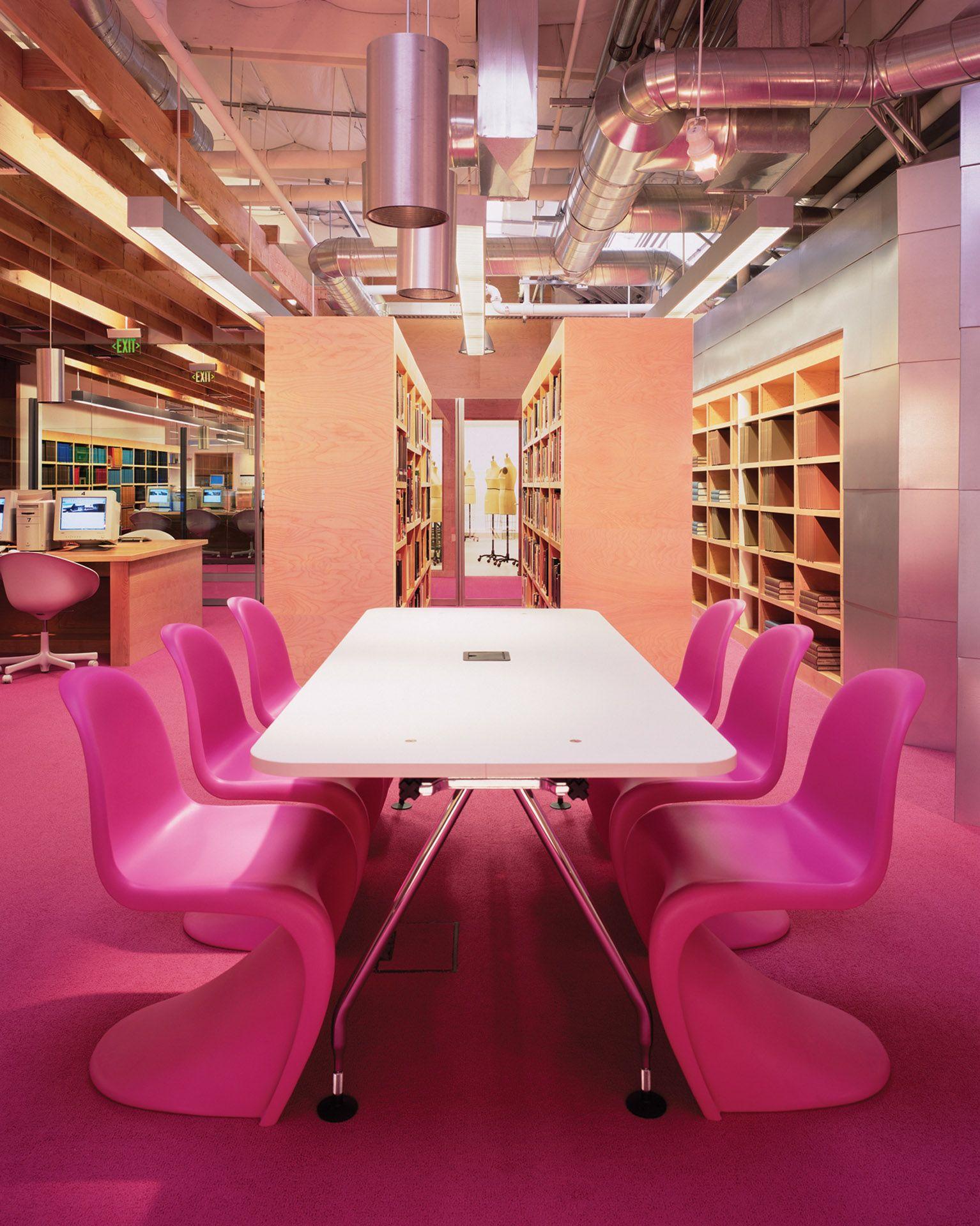 Clive Wilkinson Architects Fidm Orange County Fashion Insute Of Design