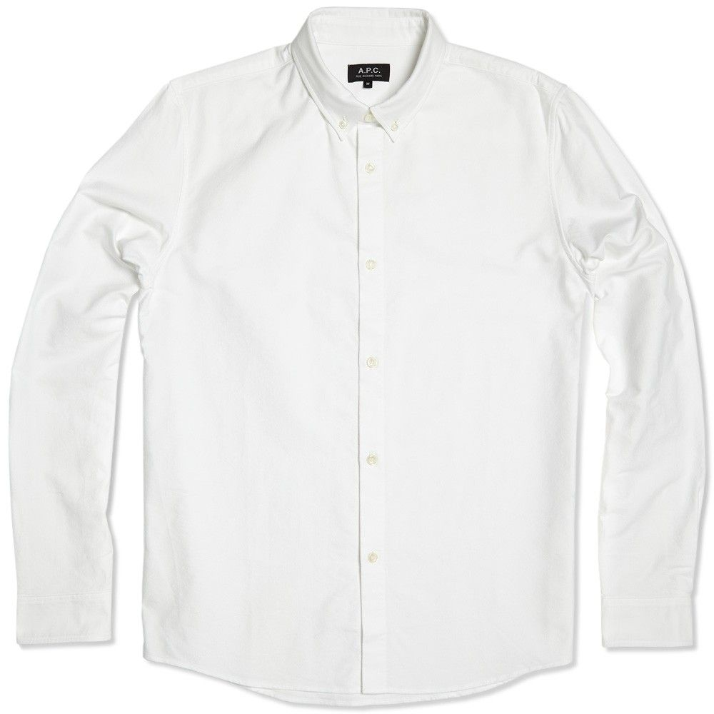 Oxford Button Down Shirt - White | Strong Looks | Pinterest ...