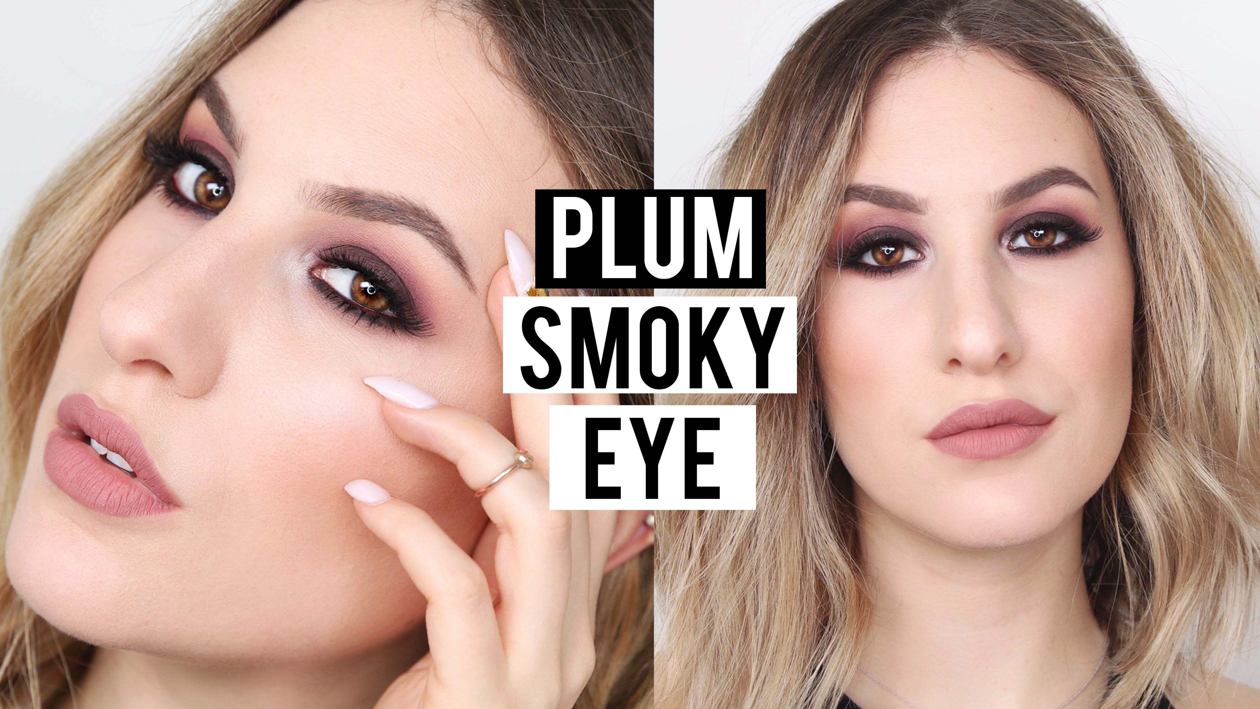 Manny Mua X Makeup Geek Palette Makeup Tutorial Plum to