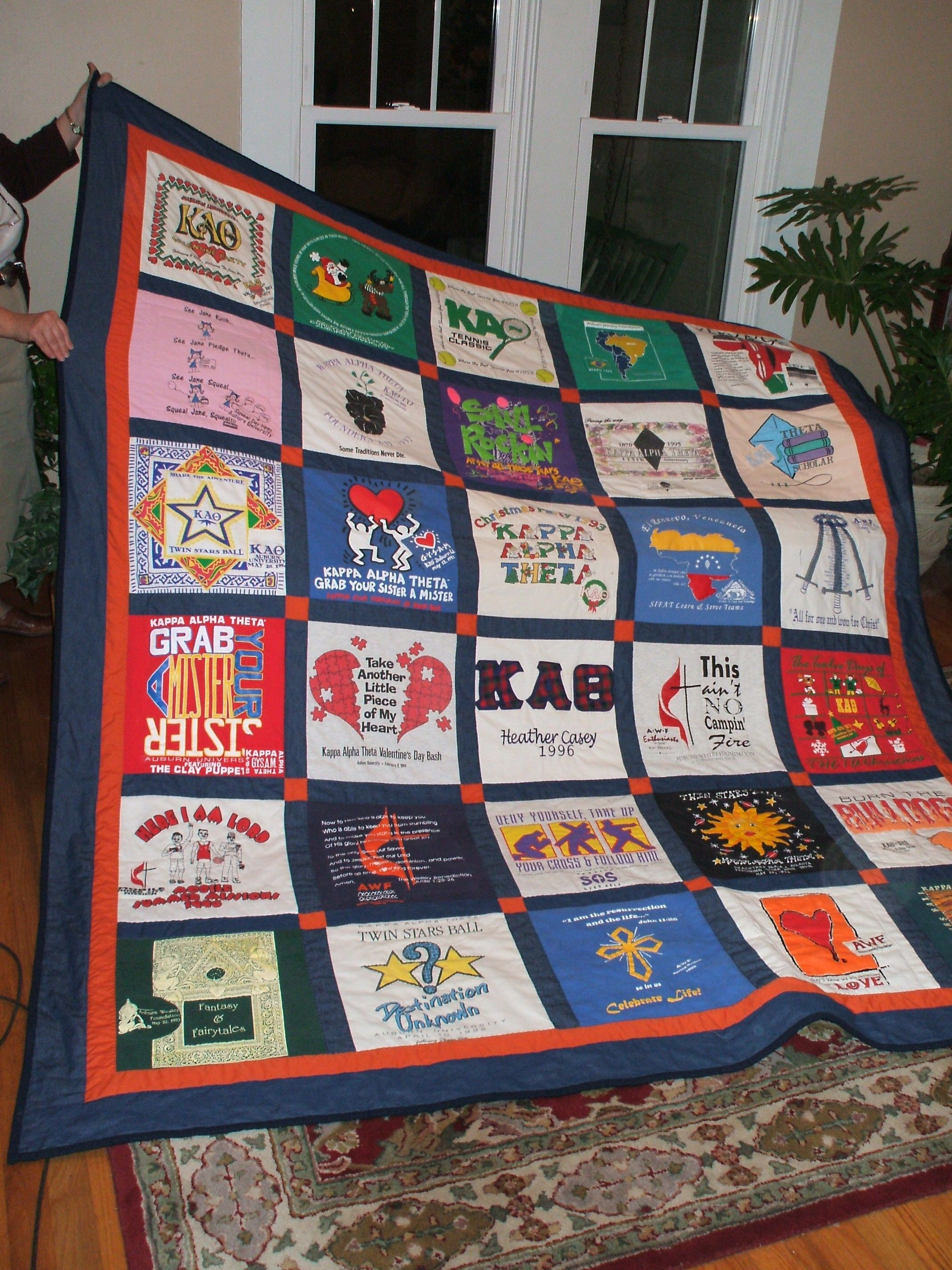 t-shirt+quilts | ... pictures of t-shirt quilts that I have done ... : pictures of tshirt quilts - Adamdwight.com