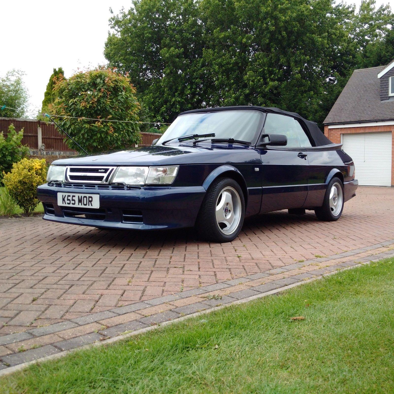 Super Rare Saab 900 Turbo Classic Convertible, Carlsson
