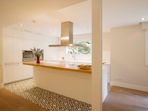 Pasado y presente en una cocina con office | cocinas en ...