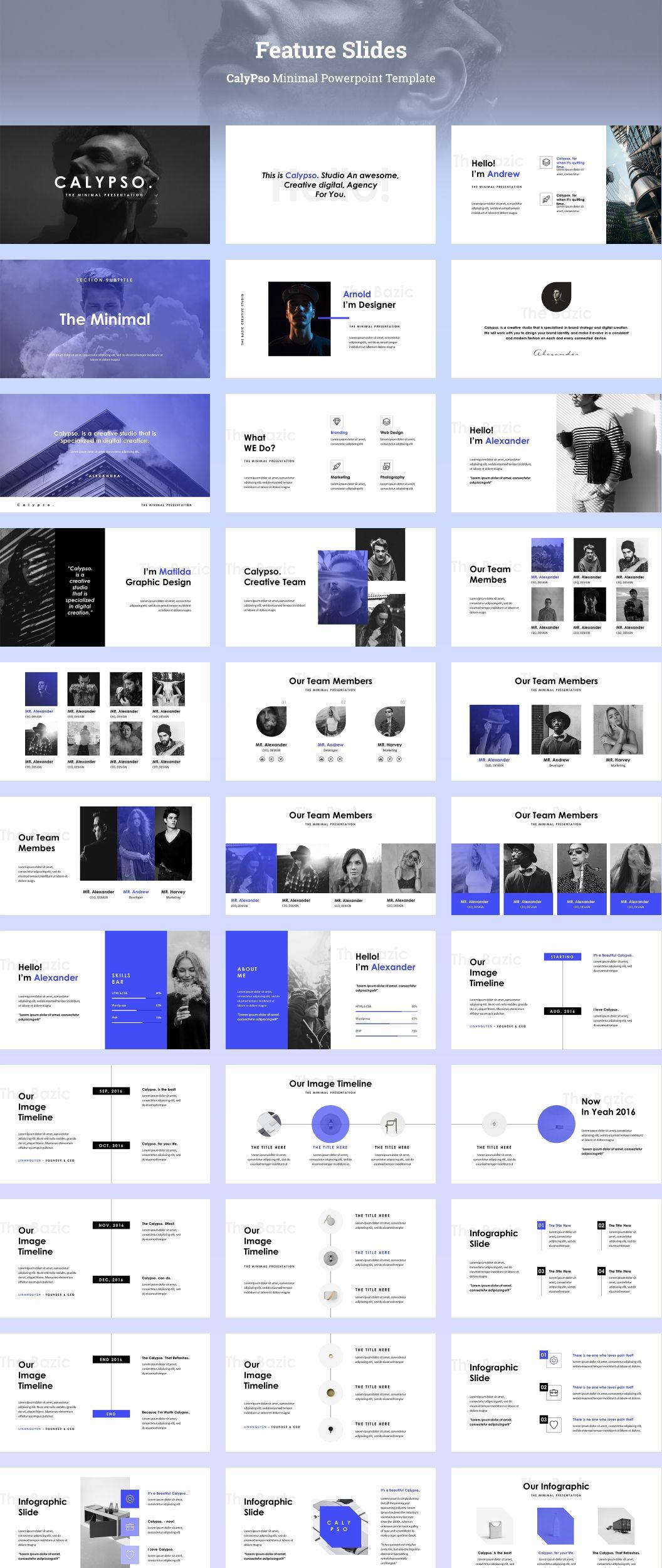 multipurpose keynote powerpoint presentation design layout