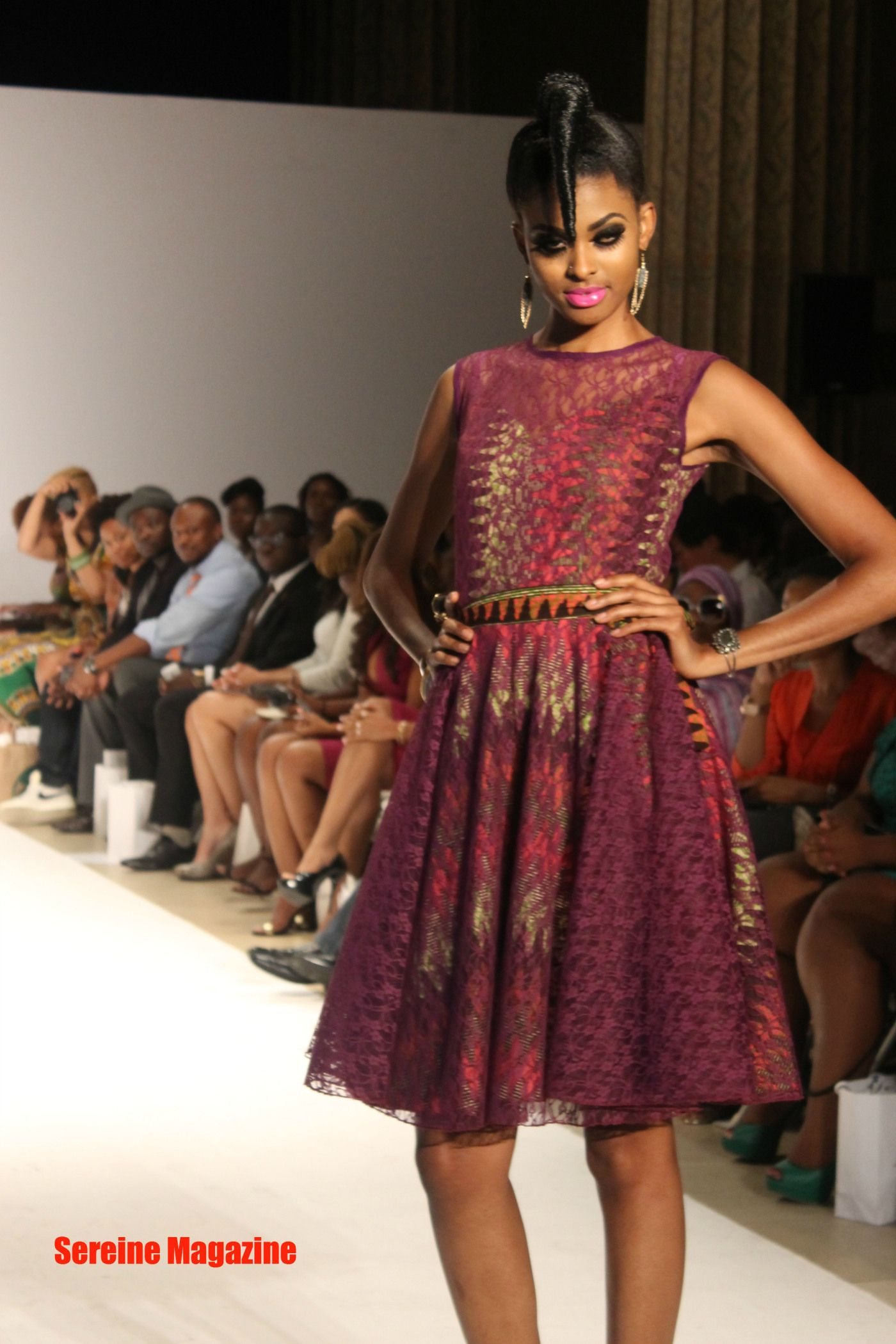 Kaela kay african fashion week collection african short
