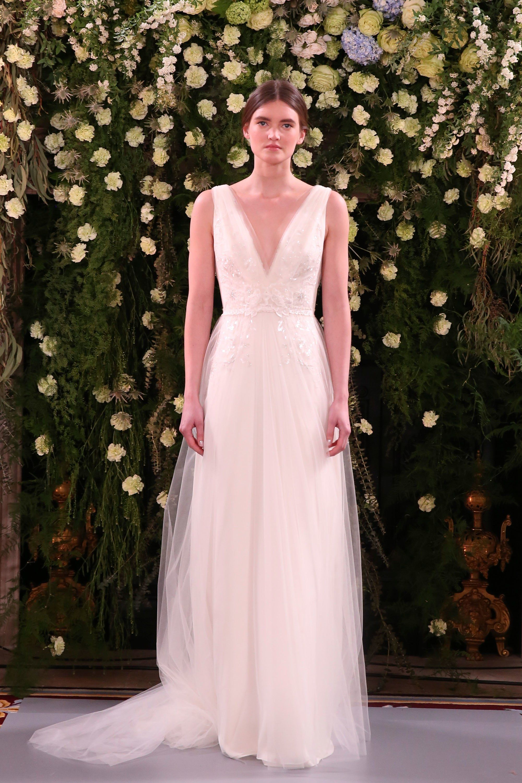 Jenny Packham Bridal Spring 2019 Fashion Show | Pinterest