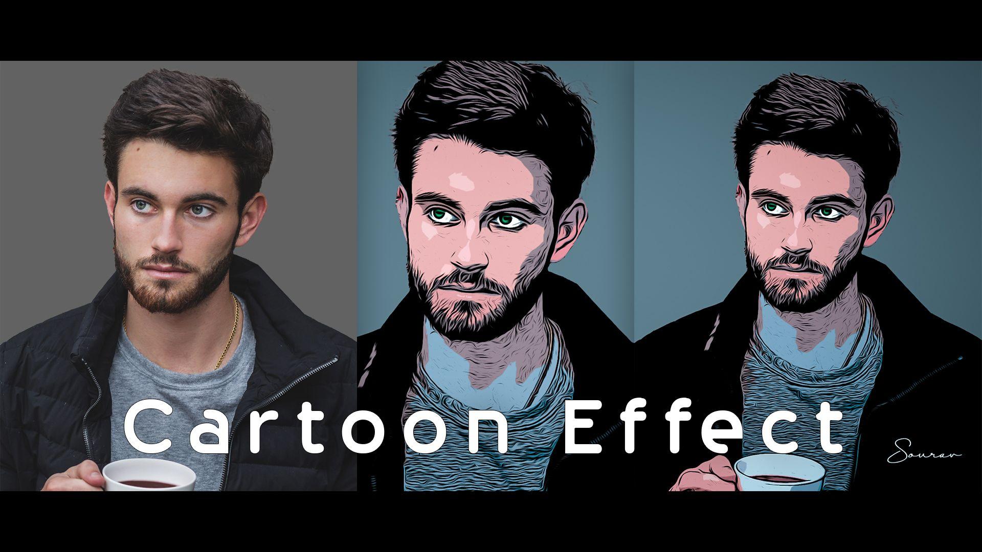 Cartoon Effect In Photoshop Cc 2019 Photoshop Tutorials Photoshop Tutorial Photoshop Editing Tutorials Photoshop