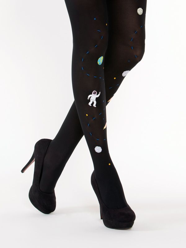 Awesome Space tights by Virivee! Unique design 23da794133
