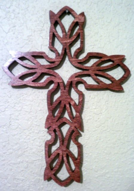 how to make braided crosses from palms