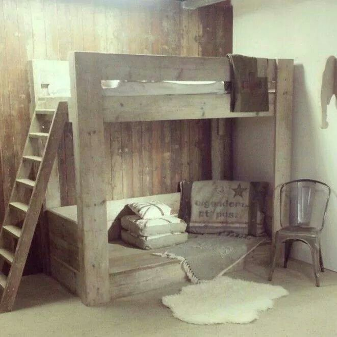 stapelbed slaapkamer l s pinterest