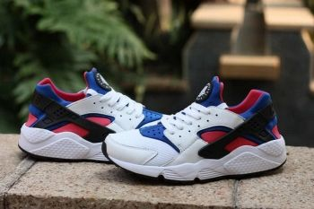 size 40 b78a8 ff4dc Official Nike Air Huarache White Game Royal Dynamic Pink Red