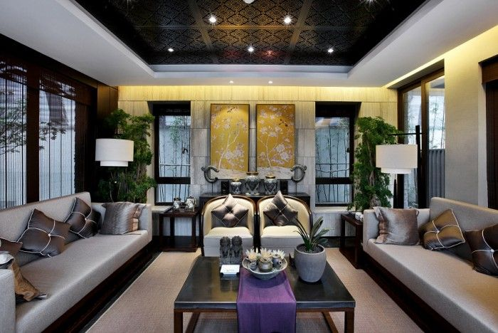Superb East Meets West: An Exercise In Interior Adaptation [100 Images] Asian  Interior,
