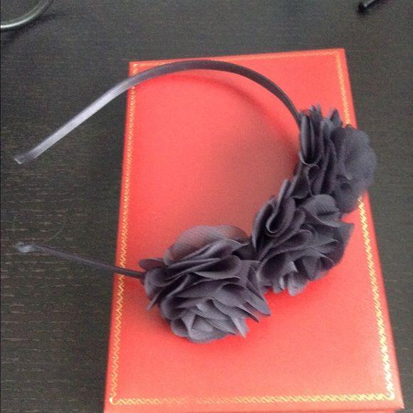 J. Crew headband New headband from j. Crew. The color is in between navy/grey. J. Crew Accessories Hair Accessories