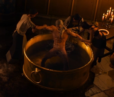 You Actually Can See Geralt S Junk In The Bath Scene Thewitcher3
