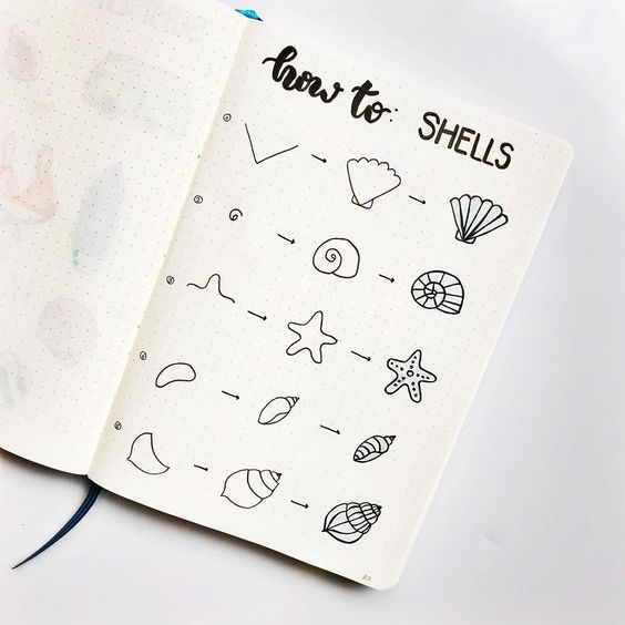 21 Surprisingly Simple Summer Doodle Art For Beginners Tutorials! #journaling