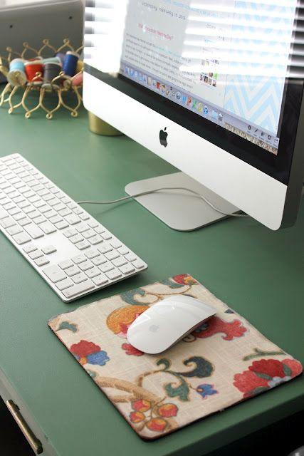 Diy Mousepad Such A Cute Idea Diy Mouse Pad Diy Mouse Pad