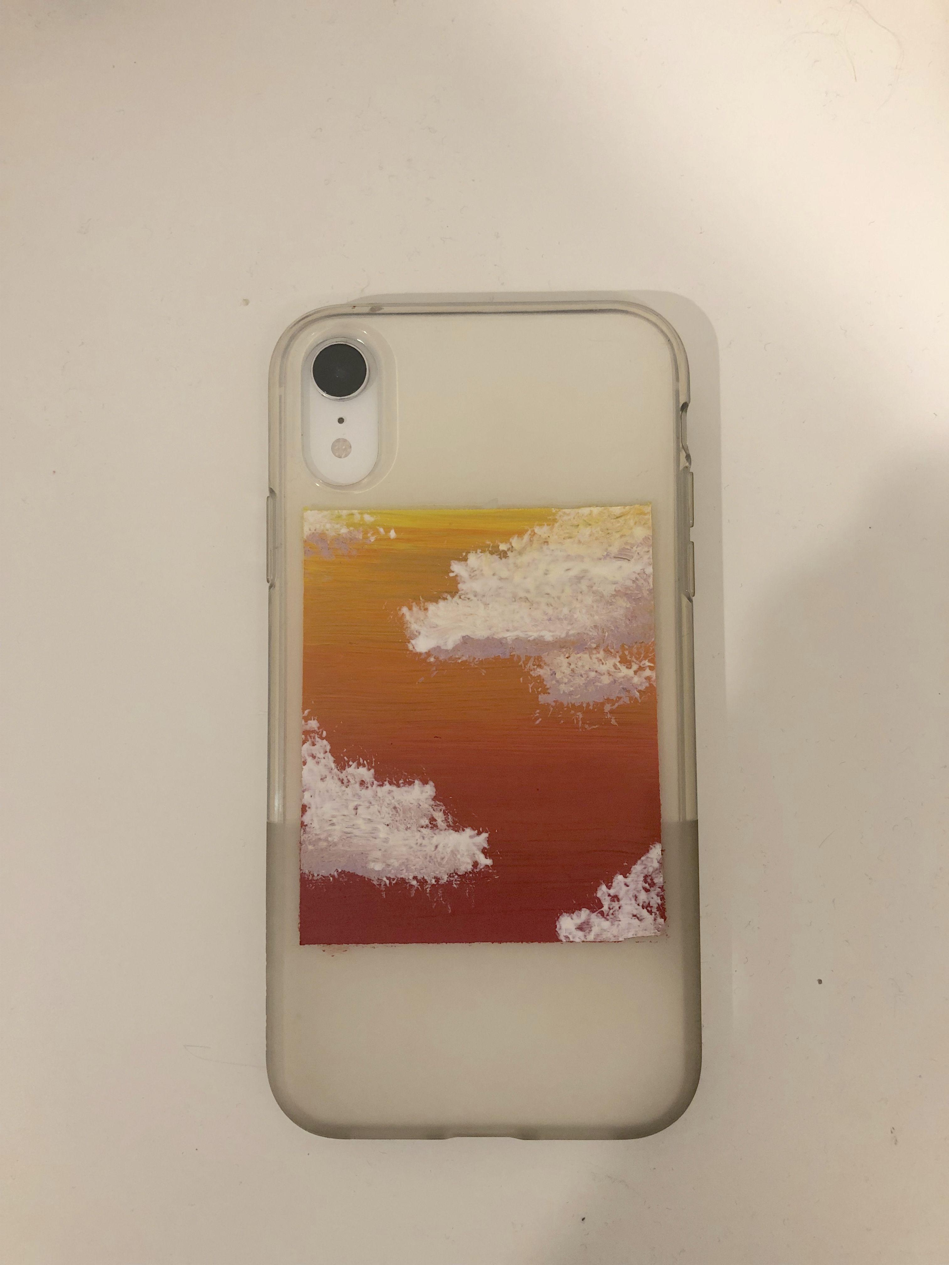 Diy Painted Phone Case In 2020 Phone Case Diy Paint Diy Phone