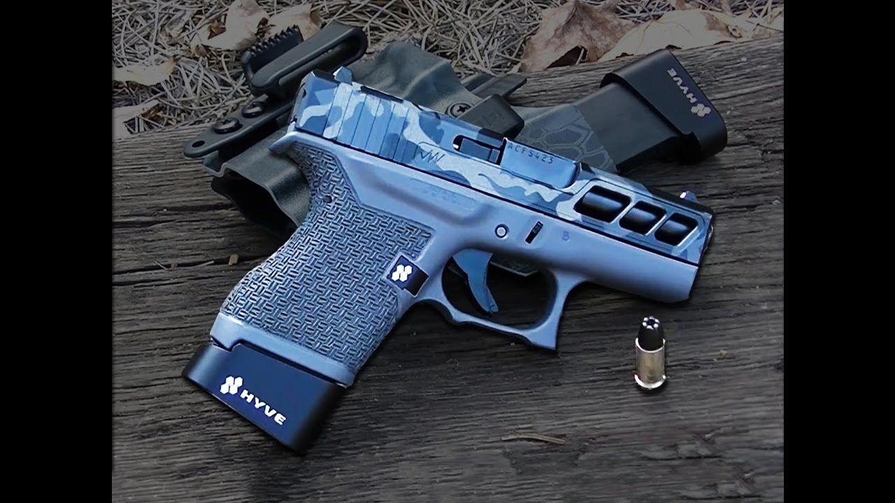 Custom Glock 43 - 5b_Gunworx Frame   Big stuff edc   Guns ...