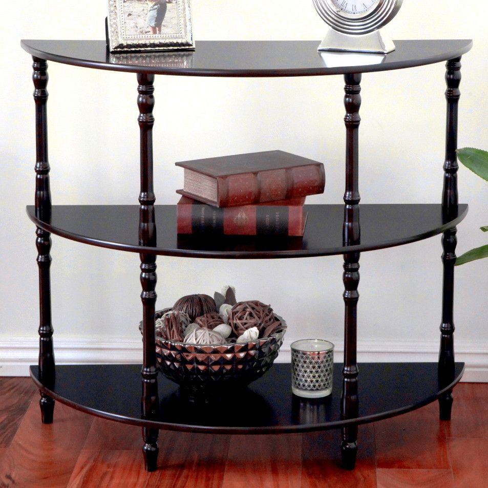 Mega home half moon console table next apartment pinterest mega home half moon console table geotapseo Images