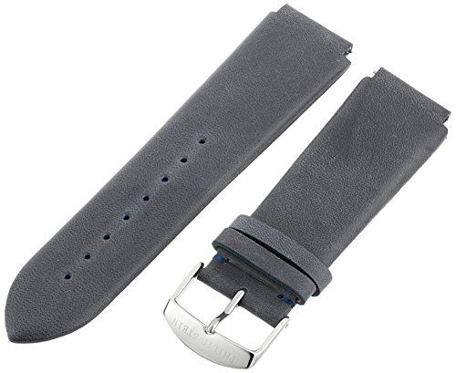 Philip Stein 3-CVOBL 22mm Leather Calfskin Blue Watch Strap. 22mm blue vintage calf strap. Fits size 3, 300 and 45 Philip stein watch heads. Band Material Type: Leather Calfskin. Band Width: 22mm. Band Size: Mens-standard.