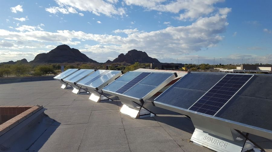 This Solar Panel Produces Up To 5 Liters Of Drinking Water Per Day From The Air Solar Panels Solar Best Solar Panels