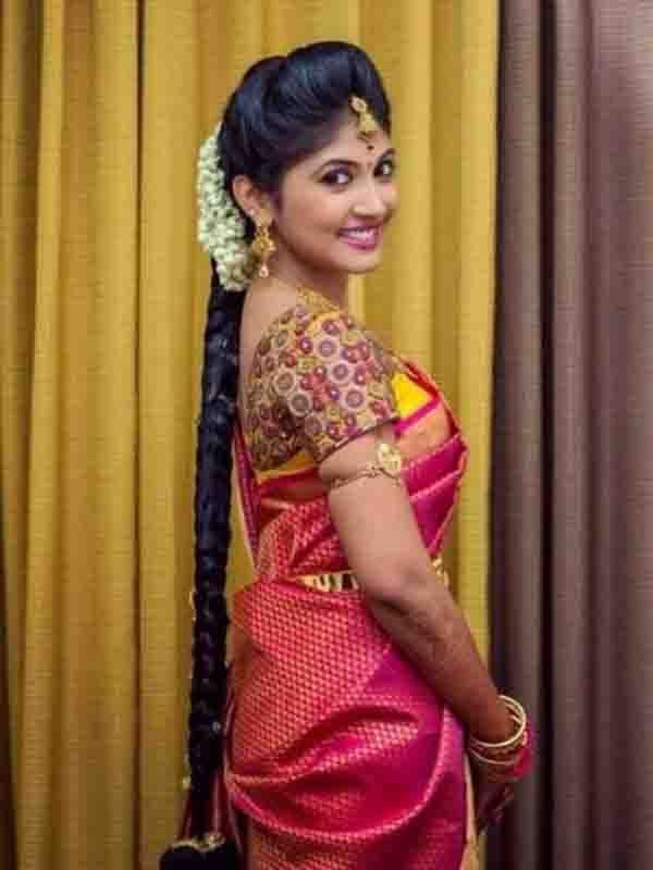 Nice Awesome South Indian Wedding Hairstyles For Long Hair