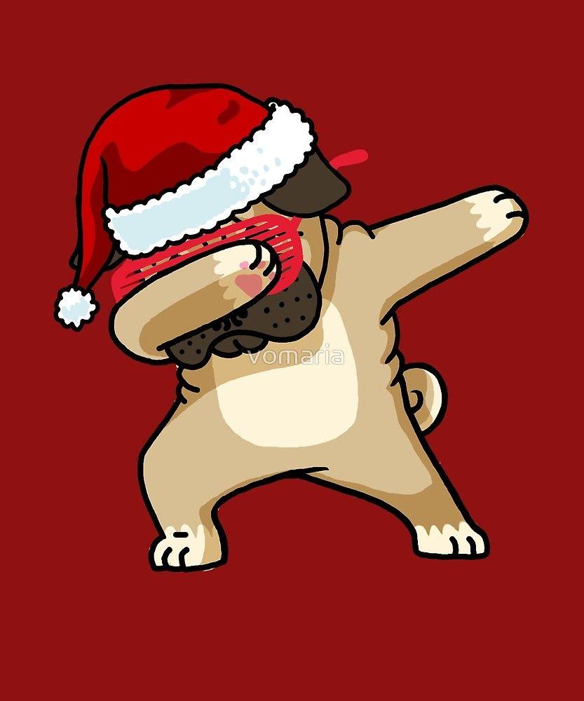 Dabbing Pug Shirt Cute Pug Dab Shirt Christmas Pugly Sweater 2 by vomaria ebfd45880