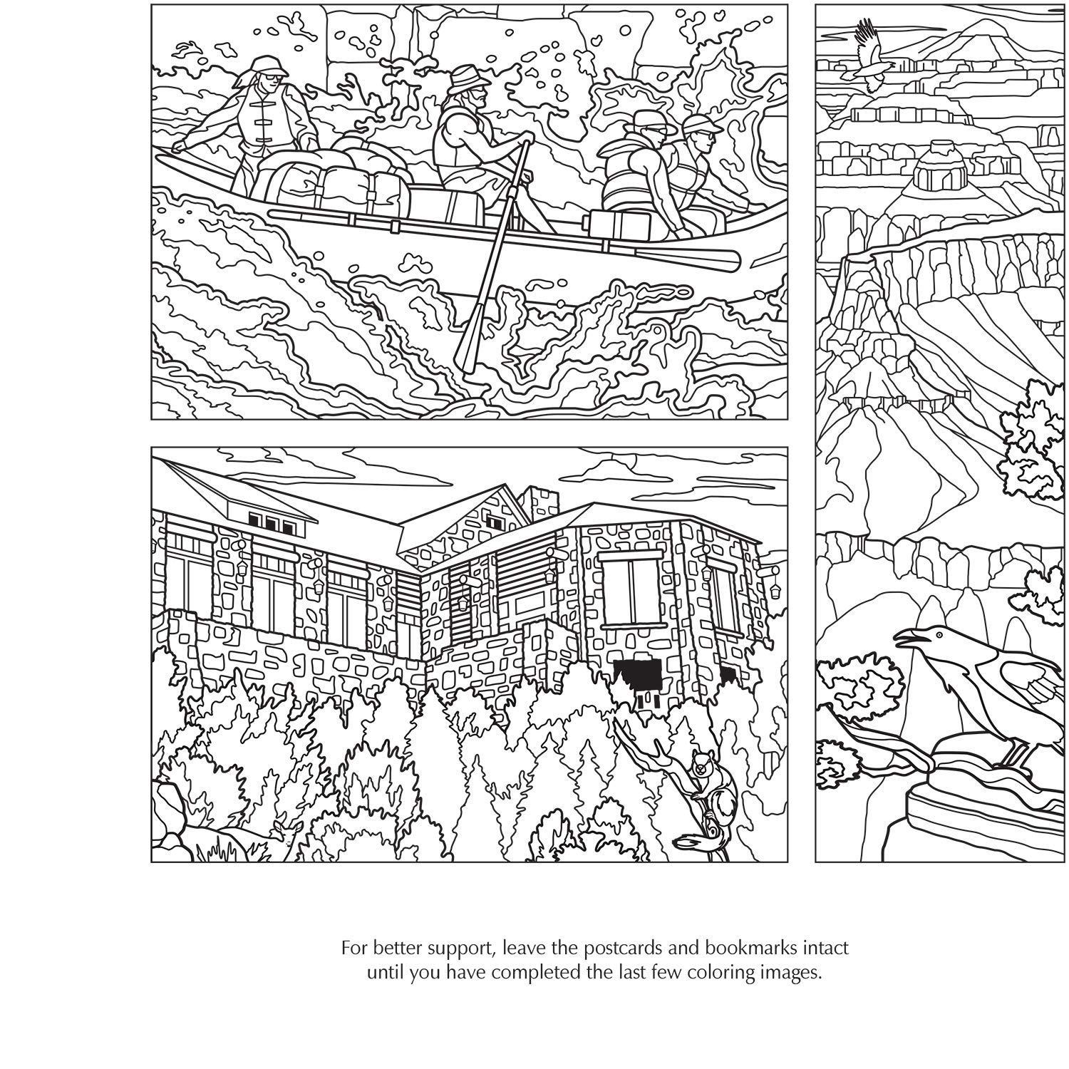 Grand Canyon Coloring Pages