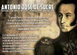 Antonio Jose De Sucre Buscar Con Google Venezuela Y Bolivar