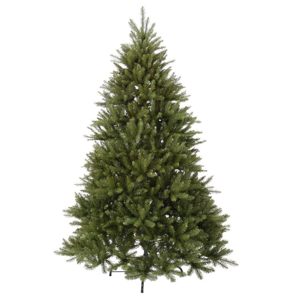 Home Accents Holiday 7 5 Ft Dunhill Fir Unlit Artificial Christmas Tree Duh3 75 The Home Depot Artificial Christmas Tree Christmas Tree Christmas Tree Home Depot