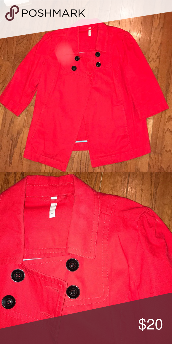 Old Navy Cherry Red Lightweight Jacket My Posh Closet Pinterest