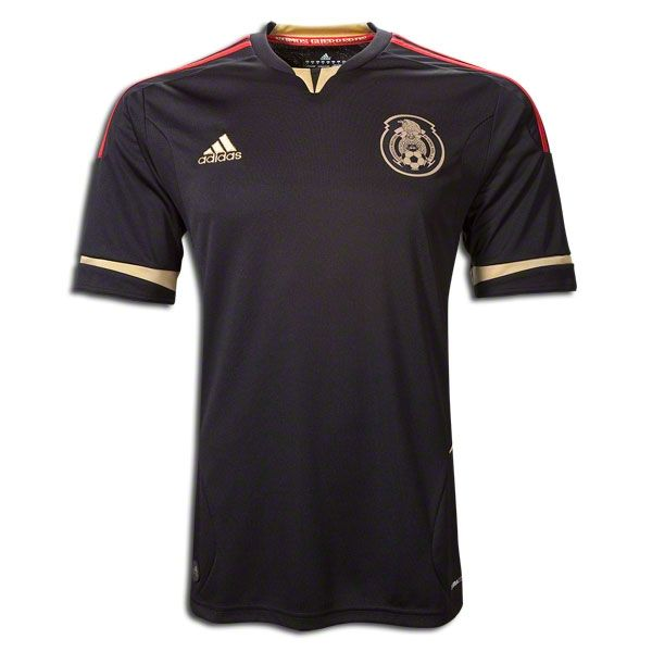 2011 Mexico Away Black Replica Soccer Jersey Shirt  c6b56c20b