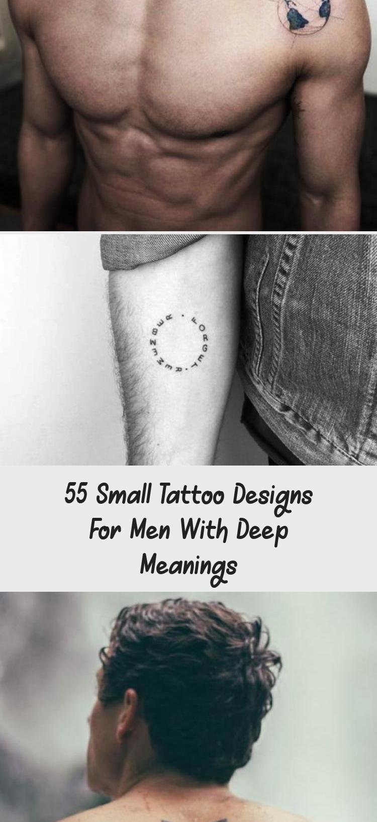 Photo of Kleine Tattoo Designs für Männer mit tiefer Bedeutung #tattooideenKatzen #tattooideenH …