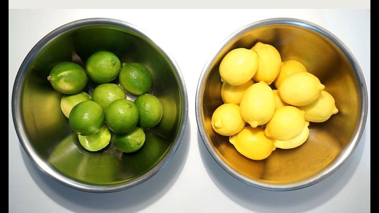 كيف تصنع عصير ليمون حامض مركز Cooking Food Fruit